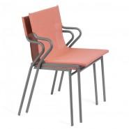 Вуличне крісло Horizon Terre Cuite (lfm9001-9078) - Вуличні крісла для кафе Lafuma