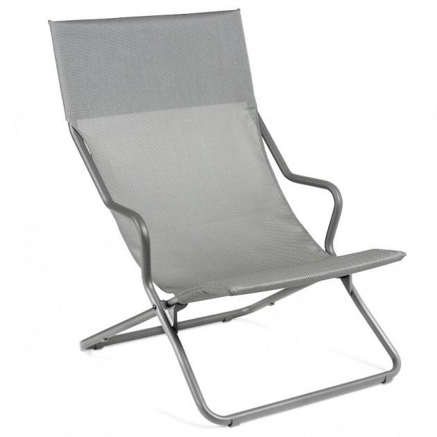Крісло-шезлонг Horizon Pearl (lfm9000-9076) - Пляжні шезлонги Lafuma