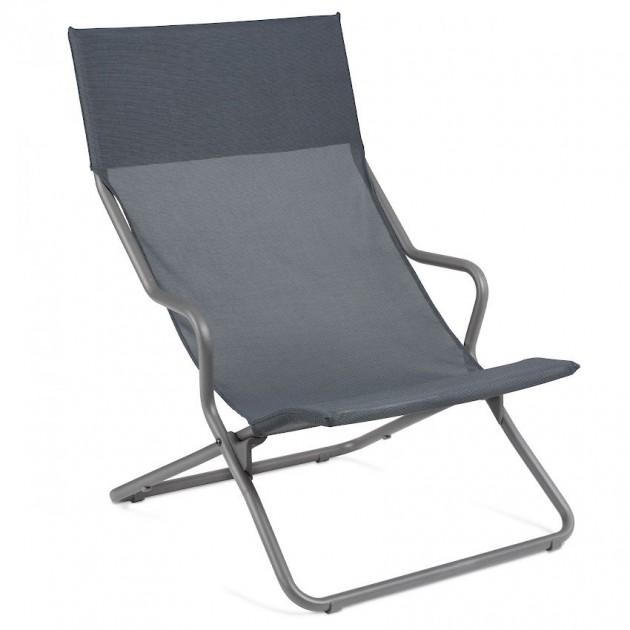 Крісло-шезлонг Horizon Storm Grey (lfm9000-9075) - Пляжні шезлонги Lafuma