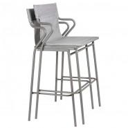 Барний стілець Horizon Pearl (lfm9006-9076) - Вуличні барні стільці Lafuma