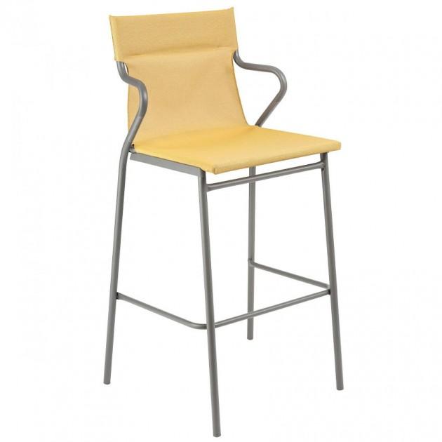 Барний стілець Horizon Safran (lfm9006-9441) - Вуличні барні стільці Lafuma