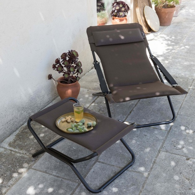 Крісло-шезлонг Transabed Taupe (lfm2459-7057) - Крісла-шезлонги Lafuma