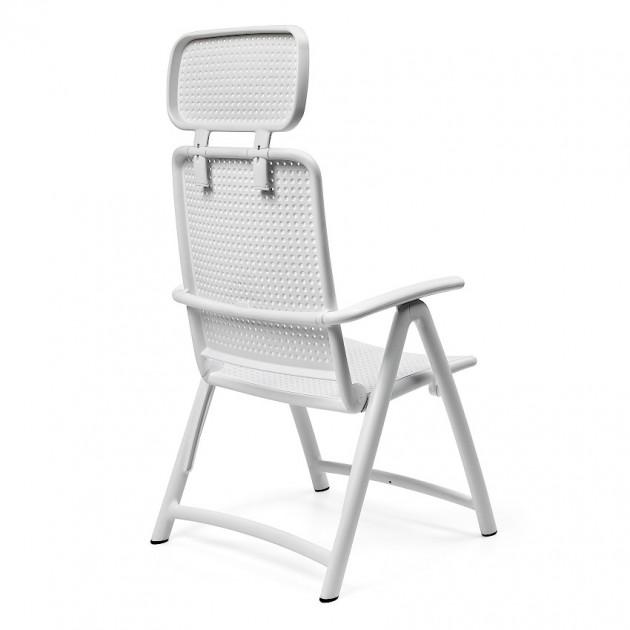 Крісло-шезлонг Acquamarina Caffe (40314.05.000) - Пляжні шезлонги Nardi