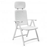 Крісло-шезлонг Acquamarina Bianco (40314.00.000) - Пляжні шезлонги Nardi