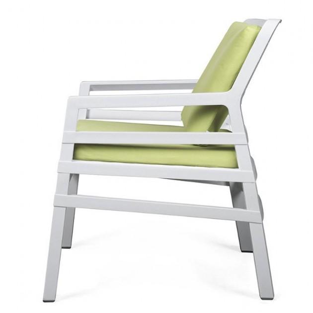 Крісло Aria Bianco (40330.00.061.061) - Крісла для вуличних кафе Nardi