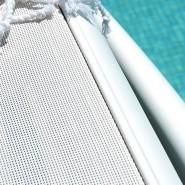 Шезлонг Atlantico Bianco (40450.00.084) - Пляжні шезлонги Nardi
