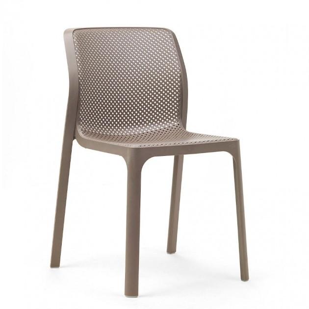 Стілець Bit Tortora (40328.10.000) - Стільці для вуличних кафе Nardi