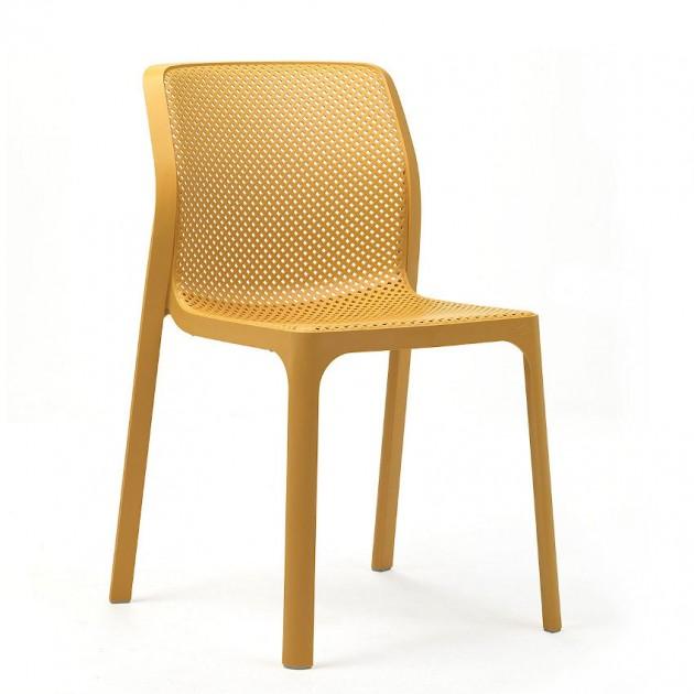 Стілець Bit Senape (40328.56.000) - Стільці для вуличних кафе Nardi