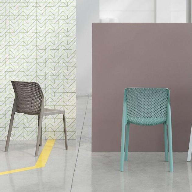 Стілець Bit Bianco (40328.00.000) - Стільці для вуличних кафе Nardi