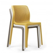 Стілець Bit Antracite (40328.02.000) - Стільці для вуличних кафе Nardi