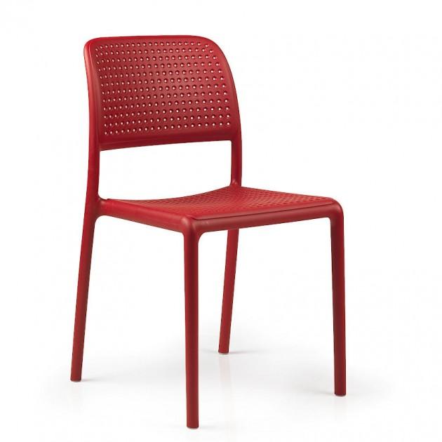 Стілець Bora Bistrot Rosso (40243.07.000) - Стільці для вуличних кафе Nardi