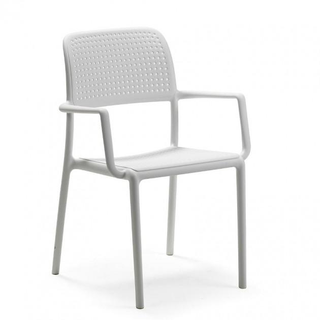 Стілець Bora Bianco (40242.00.000) - Стільці для вуличних кафе Nardi