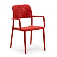 Крісло Bora Rosso (40242.07.000.06) - Вуличні крісла для кафе Nardi