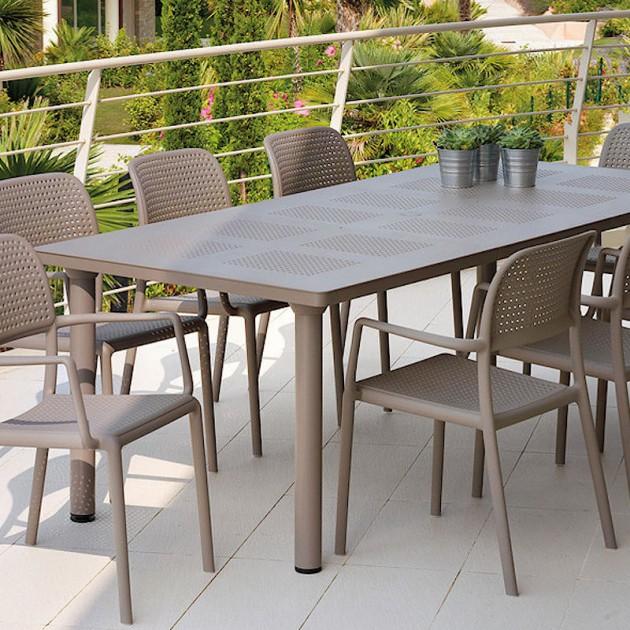 Крісло Bora Tortora (40242.10.000.06) - Вуличні крісла для кафе Nardi