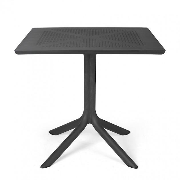 Пластиковий стіл Clip 80 (40082.02.000) - Обідні столи Nardi
