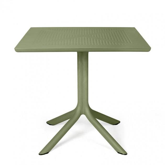 Пластиковий стіл Clip 80 Agave (40082.16.000) - Обідні столи Nardi