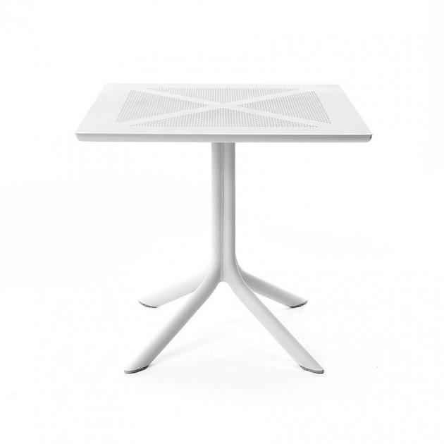 Пластиковий стіл ClipX 80 bianco (40083.00.000) - Обідні столи Nardi