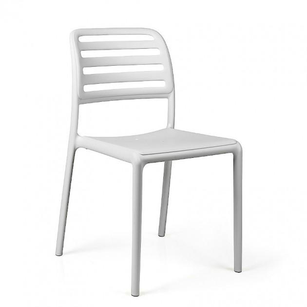 Стілець Costa Bistrot Bianco (40245.00.000.06) - Стільці для літніх кафе Nardi