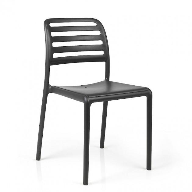 Стілець Costa Bistrot Antracite (40245.02.000) - Стільці для вуличних кафе Nardi