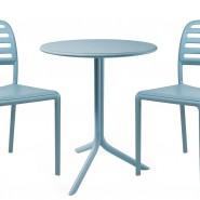 Стілець Costa Bistrot Celeste (40245.39.000.06) - Стільці для літніх кафе Nardi
