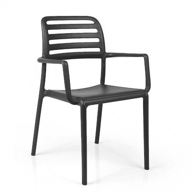 Крісло Costa Antracite (40244.02.000.06) - Вуличні крісла для кафе Nardi