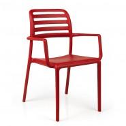 Крісло Costa Rosso (40244.07.000.06) - Вуличні крісла для кафе Nardi