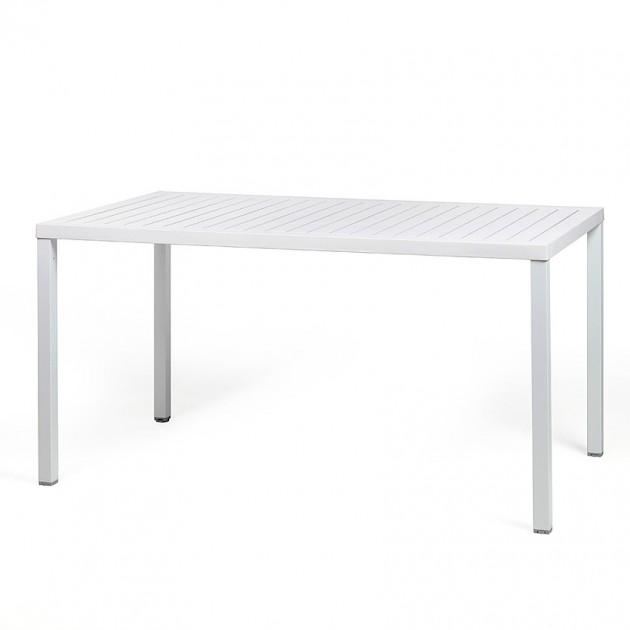 Обідній стіл Cube 140 Bianco (47753.00.000) - Обідні столи Nardi