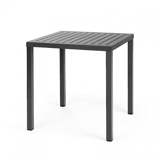 Квадратний стіл Cube 70 Antracite (47852.02.000) - Обідні столи Nardi