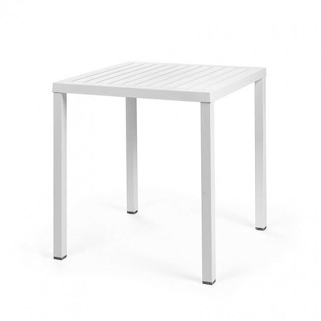 Квадратний стіл Cube 70 Bianco (47853.00.000) - Обідні столи Nardi