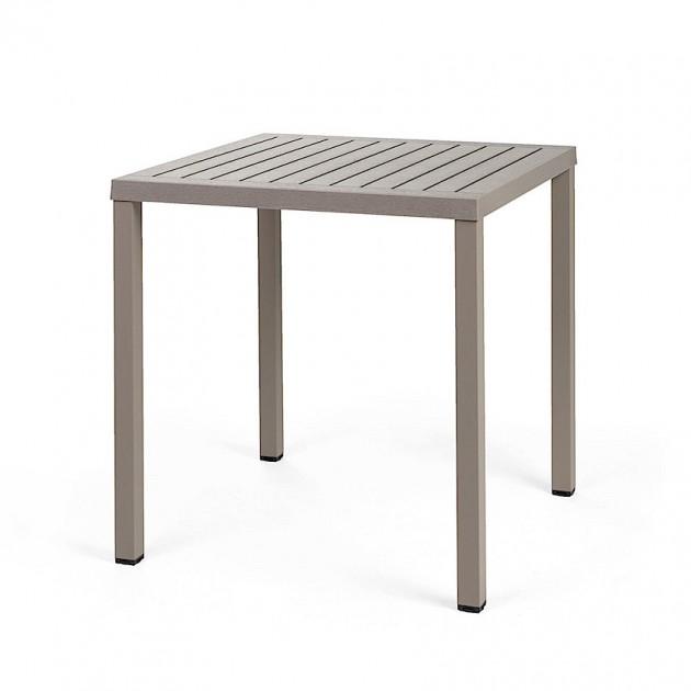 Квадратний стіл Cube 70 Tortora (47859.10.000) - Обідні столи Nardi