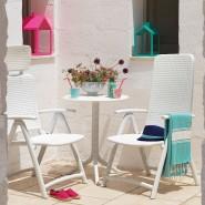 Крісло-шезлонг Darsena Bianco (40316.00.000) - Пляжні шезлонги Nardi