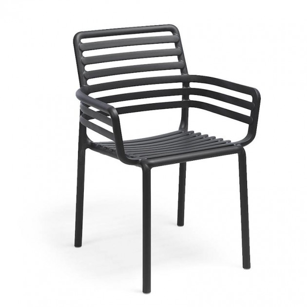 Крісло Doga Antracite (40254.02.000) - Крісла Doga Nardi