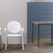 Стілець Erica Bianco (40236.00.000) - Стільці для вуличних кафе Nardi
