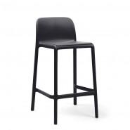 Напівбарний стілець Faro Mini Antracite (40347.02.000) - Вуличні барні стільці Nardi