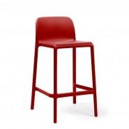 Напівбарний стілець Faro Mini Rosso (40347.07.000) - Вуличні барні стільці Nardi