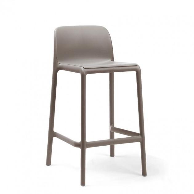Напівбарний стілець Faro Mini Tortora (40347.10.000) - Вуличні барні стільці Nardi