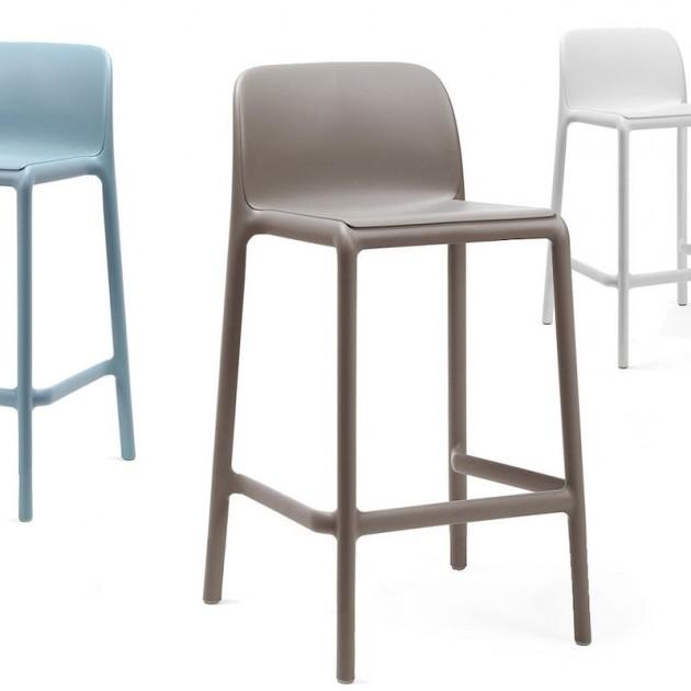 Напівбарний стілець Faro Mini Celeste (40347.39.000) - Вуличні барні стільці Nardi