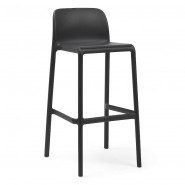 Барний стілець Faro Antracite (40346.02.000) - Вуличні барні стільці Nardi