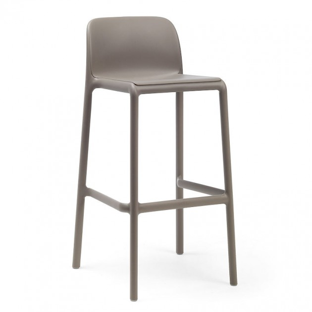 Барний стілець Faro Tortora (40346.10.000) - Вуличні барні стільці Nardi