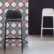 Барний стілець Faro Rosso (40346.07.000) - Вуличні барні стільці Nardi