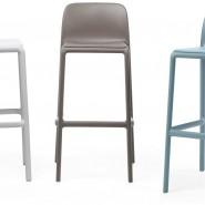 Барний стілець Faro Celeste (40346.39.000) - Вуличні барні стільці Nardi