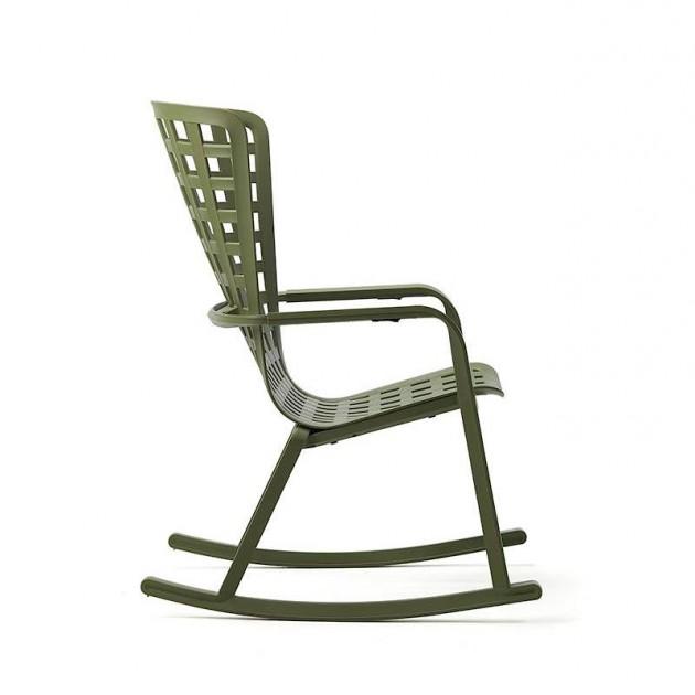 Крісло-гойдалка Folio Rocking Agave (40298.16.000) - Вуличні крісла для кафе Nardi
