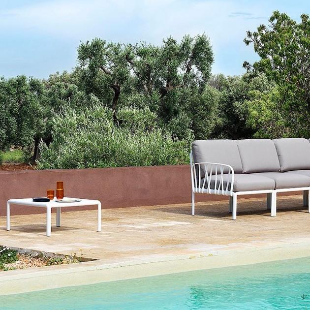 Кутовий модуль Komodo Angolo Bianco Canvas Sunbrella® laminato (40374.00.170) - Кутовий модуль Komodo Elemento Angolo Nardi