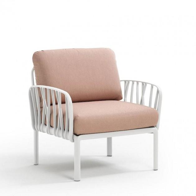 Модульне крісло Komodo Poltrona Bianco Rosa Quarzo (40371.00.066) - Модульне крісло Komodo Poltrona Nardi