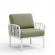Модульне крісло Komodo Poltrona Bianco Giungla Sunbrella® (40371.00.140) - Модульне крісло Komodo Poltrona Nardi