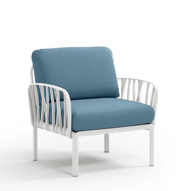 Модульне крісло Komodo Poltrona Bianco Adriatic Sunbrella® (40371.00.142) - Модульне крісло Komodo Poltrona Nardi
