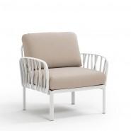 Модульне крісло Komodo Poltrona Bianco Canvas Sunbrella® laminato (40371.00.170) - Модульне крісло Komodo Poltrona Nardi