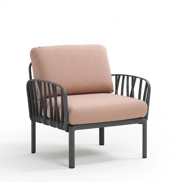 Модульне крісло Komodo Poltrona Antracite Rosa Quarzo (40371.02.066) - Модульне крісло Komodo Poltrona Nardi