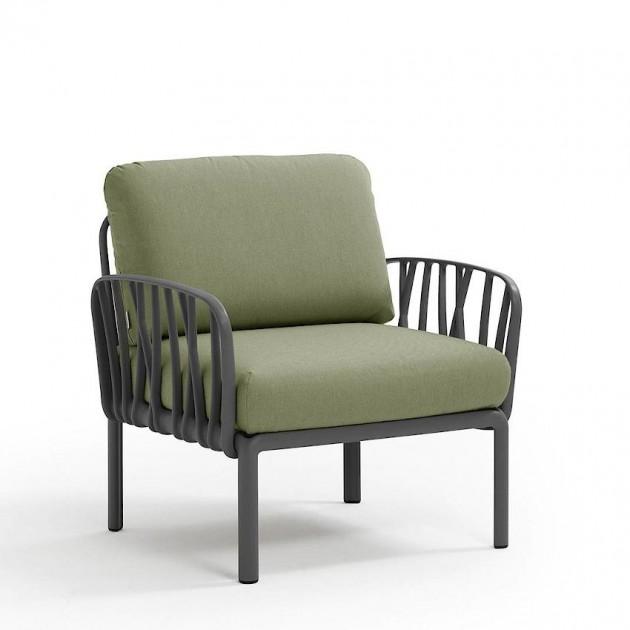 Модульне крісло Komodo Poltrona Antracite Giungla Sunbrella® (40371.02.140) - Модульне крісло Komodo Poltrona Nardi