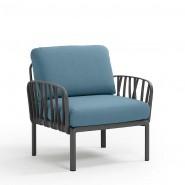 Модульне крісло Komodo Poltrona Antracite Adriatic Sunbrella® (40371.02.142) - Модульне крісло Komodo Poltrona Nardi